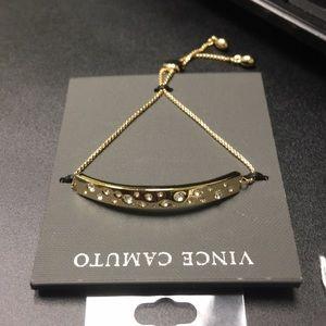 Vince Camuto adjustable Bracelet, Goldtone
